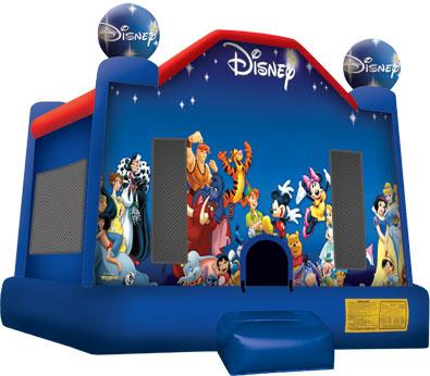 Disney Themed Bounce House The Fun Train Party Rentals