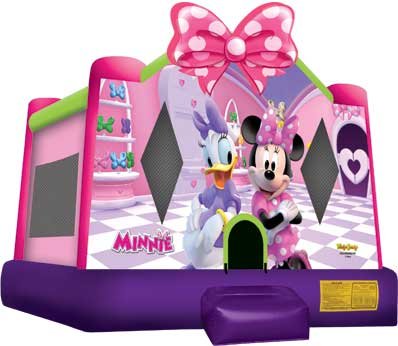 Minnie Mouse And Daisy Duck Bounce House Rental The Fun