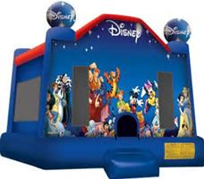 Disney Themed Bounce House