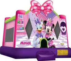 Minnie Mouse and Daisy Duck Bounce House Rental