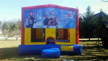 Disney Frozen Banner Bounce House