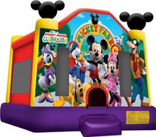 Disney Park Bounce House