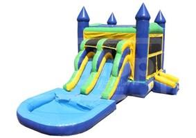 Castle N Slide 2 Lanes